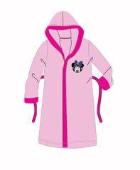 """SETINO Dievčenský župan s kapucňou """"Minnie Mouse"""" - ružová - 110–116 / 5–6 rokov"""