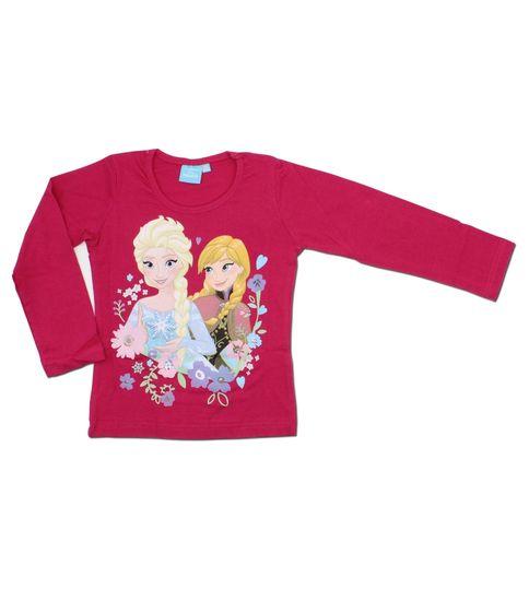 """SETINO Dekliška majica z dolgimi rokavi """"Frozen"""" - fuksije"""
