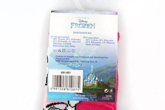 """SETINO Dekliške visoke nogavice """"Frozen"""" - fuksije"""