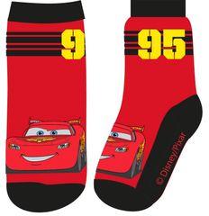 """Eplusm Chlapčenské vysoké ponožky """"McQueen 95"""" - červená - 31–34"""