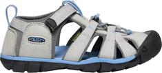 KEEN dětské sandály Seacamp II CNX K 24 světle šedá