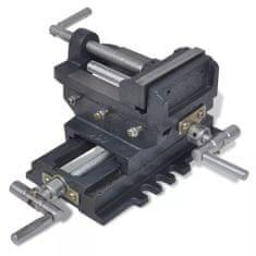 shumee Ročni prečni primež za vrtalni stroj 78 mm