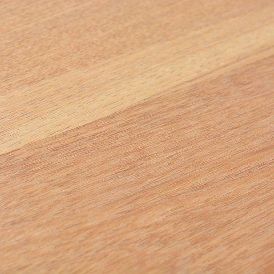 shumee Konzolna mizica iz jesenovine 119x53x79 cm