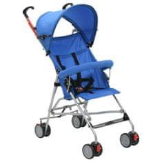 shumee Składany wózek spacerowy, niebieski, stal