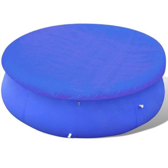 shumee Pokrivalo za bazen PE okroglo 540 cm 90 g/m²