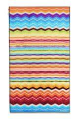 Missoni Home HUGO plážová osuška 100 x 180 cm oranžová multicolor