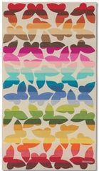 Missoni Home JAMELIA plážová osuška 100 x 180 cm s motýlky