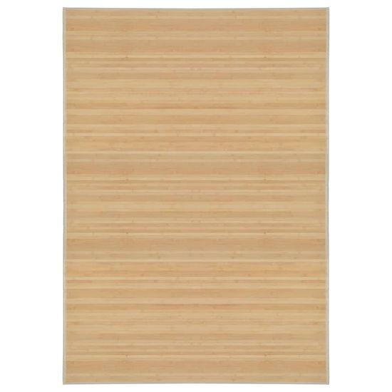 shumee Preproga iz bambusa 160x230 cm naravne barve