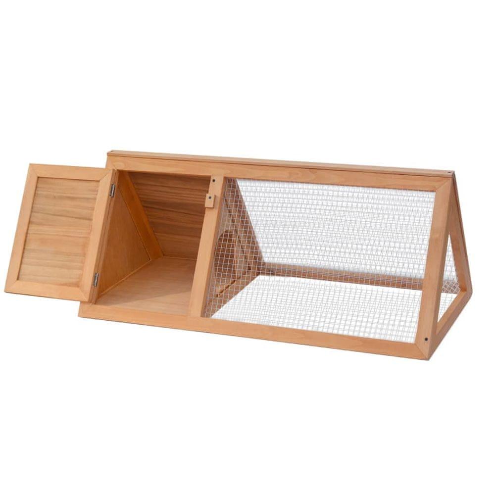 shumee Zvieracia klietka/králikáreň, drevená