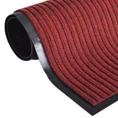 shumee Červená PVC rohožka 90 x 120 cm