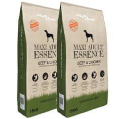 "shumee 2 db ""Maxi Adult Essence Beef & Chicken"" prémium kutyatáp 30 kg"