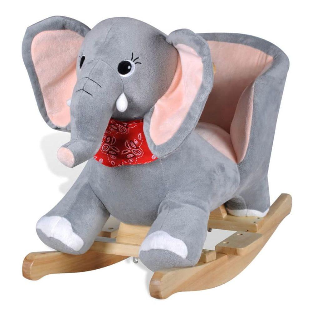 Houpací zvířátko slon