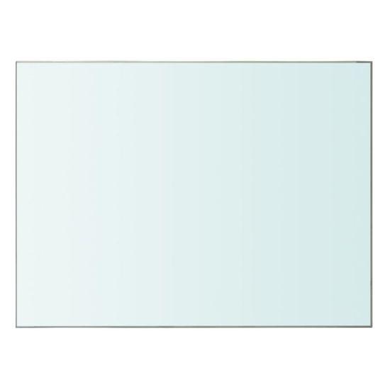 shumee Polica Prosojno Steklo 40x30 cm