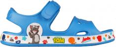 Coqui Fobee Talking Tom and Friends Sea blue/White 8851-601-4732 fiú cipő, 21/22, kék