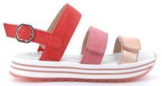 Primigi 5435200 dekliški sandali, rdeča, 39
