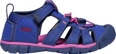 KEEN dětské sandály Seacamp II CNX Jr. 37 tmavě modrá