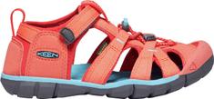 KEEN dětské sandály Seacamp II CNX Jr. 34 oranžová