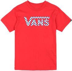 Vans dětské tričko 5 červená