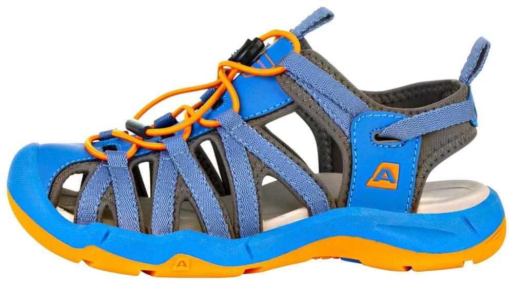 ALPINE PRO chlapecká obuv LANCASTERO KBTR221697 33 modrá
