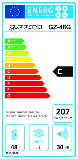 GUZZANTI vinotéka GZ 48 G