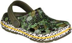 Coqui gyerek cipő LINDO 6423 Army green camo 6423-203-2600, 24/25, zöld