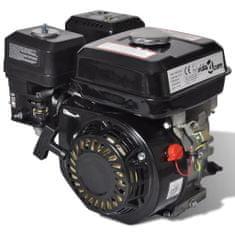 shumee Bencinski motor 6,5 KM 4,8 kW črn