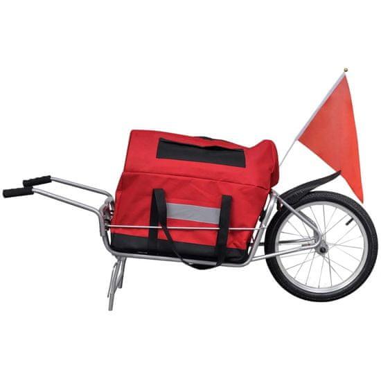 shumee Nákladní vozík za kolo jednostopý s úložným vakem