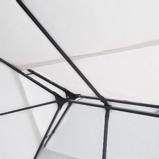 shumee Paviljon bele barve 3x4 m