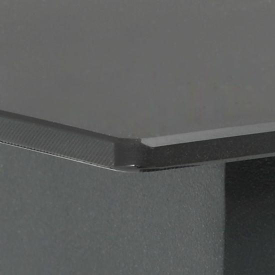 shumee 7-częściowy zestaw mebli ogrodowych rattan PVC, czarny