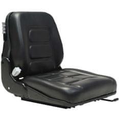 shumee Sedež za viličar in traktor vzmetenje prilagodljivo naslonjalo