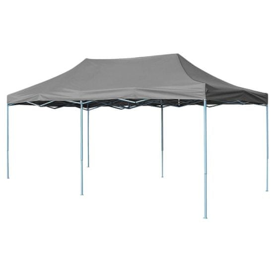 shumee Składany namiot ogrodowy, 3 x 6 m, antracytowy