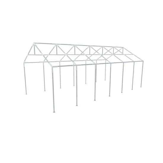shumee Jekleni Okvir za Vrtni Šotor za Zabave 12 x 6 m