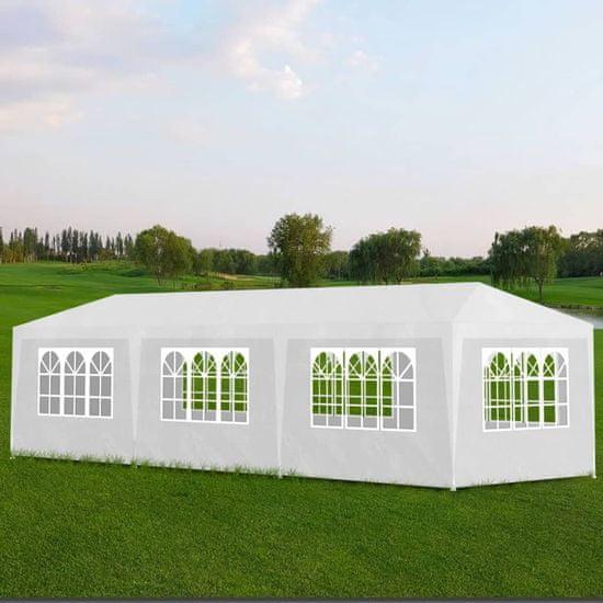shumee Vrtni šotor 3x9 m bel