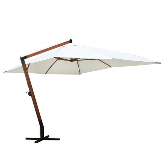 shumee fehér napernyő 300 x 400 cm