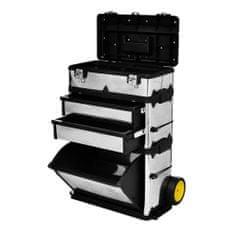 shumee 3 delna škatla za orodje na vozičku