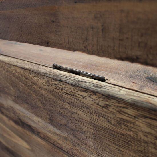 shumee Klop iz masivnega predelanega lesa 86x40x60 cm