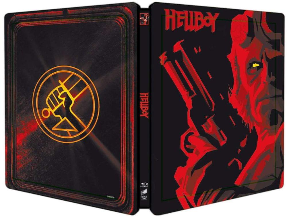 Hellboy (Režisérská verze) - Blu-ray Steelbook (bez CZ podpory)