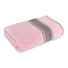 "Saffran Froté ručník 50x85 ""Premium"" (4 barvy), růžová, 70 x 130 cm"