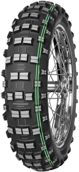 Mitas guma TerraForce EH Super Soft Extreme TT 120/90-18 65M, 2 zeleni črti, enduro