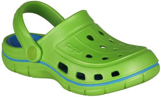Coqui Chlapecká obuv JUMPER 6353 Lime/Sea blue 6353-100-1447
