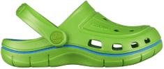Coqui Fiú cipő JUMPER 6353 Lime/Sea blue 6353-100-1447, 32/33, zöld
