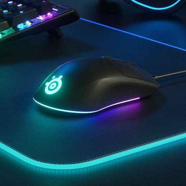 RGB 3 zóny SteelSeries herní myš