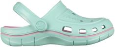 Coqui dekliški čevlji JUMPER 6353 Lt. mint/Pink 6353-100-4438, 30/31, zeleni