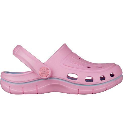 Coqui 6353-100-3840 Jumper 6353 Pink/Candy blue sandale za djevojčice