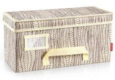Tescoma Krabice na oděvy FANCY HOME 40 x 18 x 20 cm, smetanová