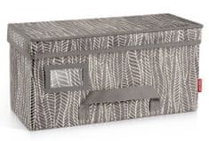 Tescoma Krabice na oděvy FANCY HOME 40 x 18 x 20 cm, cappuccino
