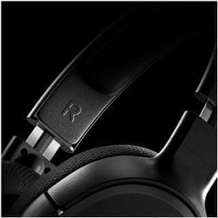 sluchátka herní headset vyztužená čelenka