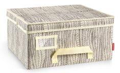 Tescoma Krabice na oděvy FANCY HOME 40 x 35 x 20 cm, smetanová