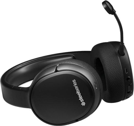 SteelSeries Arctis 1 gaming slušalke, črne