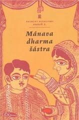 Mánavadharmašástra - Manuovo ponaučení o dharmě
